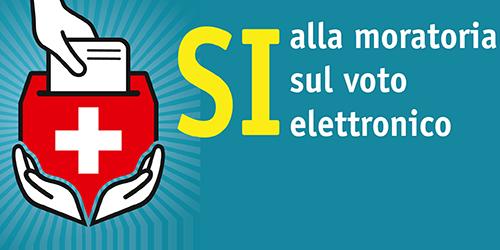 E-Voting-Moratorium │ Volksinitiative